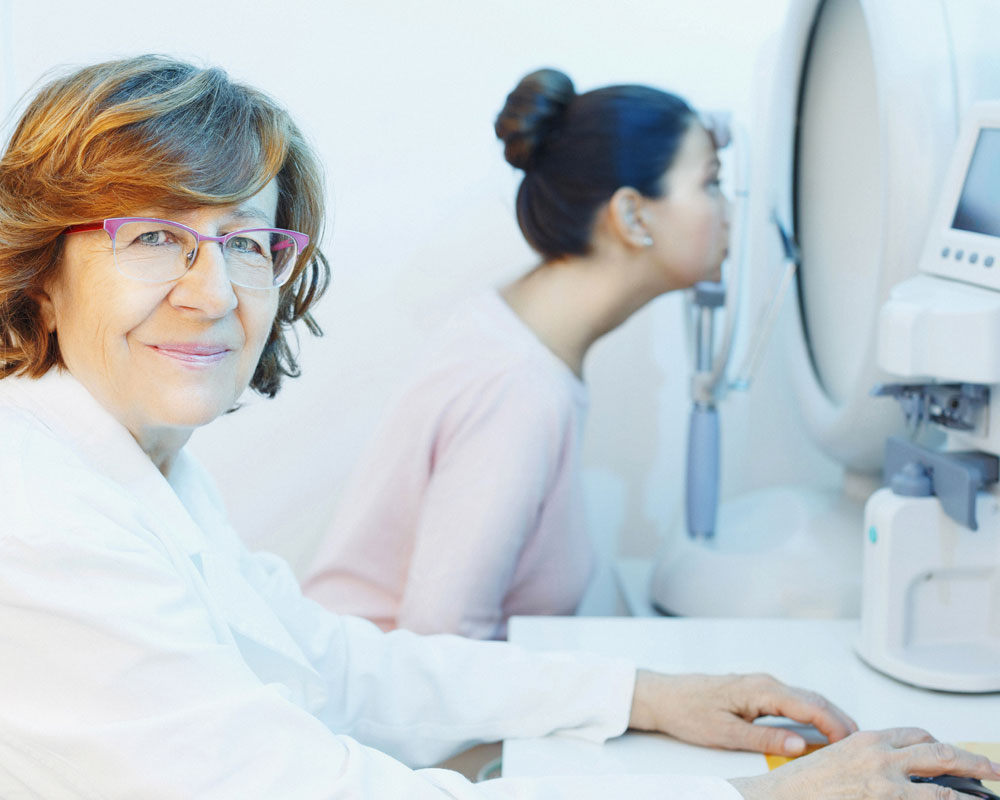 Comprehensive eye examination